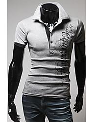 Herren-Brief drucken Polo T-Shirt
