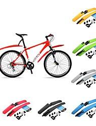Велоспорт Велосипедные крылья Велоспорт Желтый / Зеленый / Красный / серый / Черный / Синий пластик