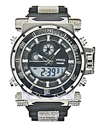New Infanty Mens Heavy Gunner INFANTRY Rubber Fashion OutdoorDigital WristWatch (Black)