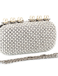 Metal And Polyster Wedding/Special Occasion Clutches/Evening Handbags