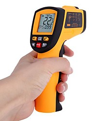 Non-Contact Laser-IR-Thermometer -50-700 ℃ w Alarm MAX MIN AVG DIF