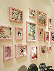 Pick Color Photo Frame Collection Set of 15