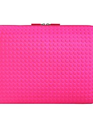EXCO 15 inch Emboss Blue Dot Neoprene Laptop Sleeve