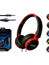 2014 Games Foldable Wired Stereo Headphones with Microphone 3.5mm Plug with 1.8m Cable