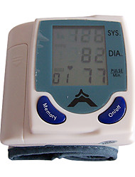 Wrist Style Digital Blood Pressure Monitor(White)