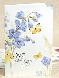 """Best Wishes for You""Side Fold Greeting Card for Mother's Day"