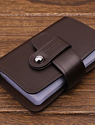 Men'S Bank Cards Leather Card & Id Holders