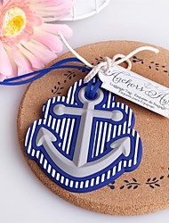Beach Theme Anchor Luggage Tag Favor