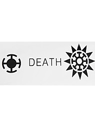 Cosplay Accessories Inspired by One Piece Trafalgar Law Anime Cosplay Accessories Flag White / Black Polyester Male