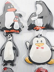 Penguin Fridge Magnet, Set of 8 W21.5cm x L10cm x H0.5cm