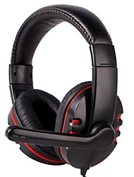 Gaming Headset with Microphone/Voice Control for PS4/PS3/PC/Xbox360