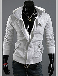 W.Rain Casual Wool Hoodies(Black,Light Gray,Dark Gray)