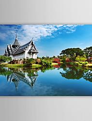 Stampa trasferimenti su tela famosi templi di Art Landscape Thailandia