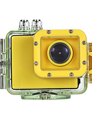 HD1080P-F28 Mini Action Camcorder (Yellow+Black)