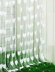 """Falling in Love Vorhang Line - drei Farben erhältlich (39 """"W x 78"""" L)"""