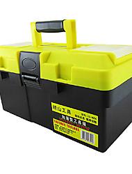 16 * 8 * 8-Zoll-ABS Kunststoff-Werkzeugkasten