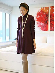 2014 Maternity Clothing  Autumn Knitted Spring  Loose Long Design Basic Shirt Sweater