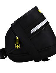 CoolChange 600D Polyester Schwarz Extensible Saddle Bag