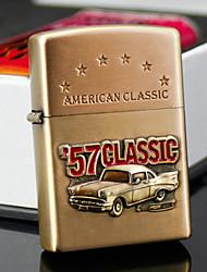 mais leve presente do dia gravada óleo padrão ouro carro personalizado do pai