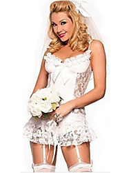 Women Overbust Corset , Lace/Others Lace Up