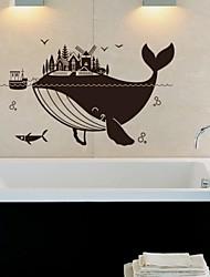 Животные Большой кит стены стикеры