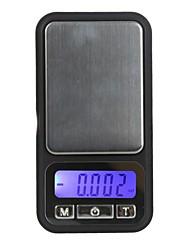100g / 0.01g Balance électronique numérique de style de diamant de téléphone de poche de pesage affichage Solde LCD