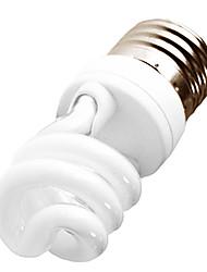 H + LUX E27 8W 420LM SPIRALE BEBÉ CRI> 80 2700K blanco cálido CFL Luz (220-240V)