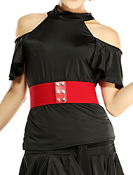 Dancewear das Mulheres Viscose Alças Latin Dance Top (mais cores)