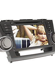 8Inch 2 DIN In-Dash Car DVD Player for Toyota HIGHLANDER 2008-2012 with GPS,BT,IPOD,RDS,Touch Screen,TV