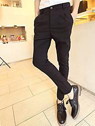 Uomo Facile abbinabili Harem Pantaloni skinny