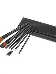 7 Makeup Brushes Set Nylon Face / Lip / Eye