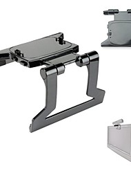 Portable TV Clip Bracket Mount Holder For Xbox 360 Kinect Sensor - Black