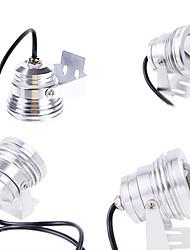 7.6 * 7.6 * 10 impermeabile della luce esterna della lampada subacquea a LED di paesaggio