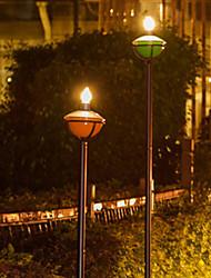 Solar Jardim Luz Produzido Candle Light Outdoor Light (Leh-42327C)