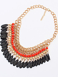 Shadela Bohemian Orange Fashion Necklace CX088-1