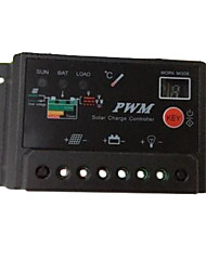 30A PWM Solar Panel Battery Regulator Charge System Digital Controller 12V 24V