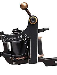 Compass Tattoo Machine Samar Shader 10 Wraps Steel Frame