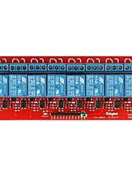 Brand New 8-channel 5V Relay Module Blue and Red