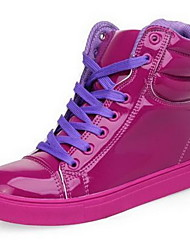 Leatherette Women's Low Heel Comfort Fashion Sneakers Shoes(More Colors)