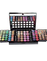 Make-up For You® 96 Color Eye Shadow Shimmer/Dry/Mineral Eyeshadow Palette Powder Professional Fairy makeup/Party makeup/Smokey makeup Makeup Palettes