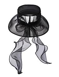 Elegante Organza Hochzeit / Party / Außen-Hut mit Pailletten (weitere Farben)