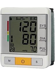 Surveillance de la pression artérielle du poignet (0 ~ 299mmHg, ± 3 mm Hg, batterie 2xAAA)