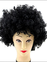 World Cup Halloween Party Christmas Afro Cosplay Curly Clown Wigs