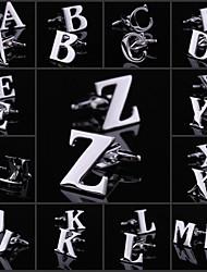 Классические мужские-Z Медь Серебро запонки (1 пара)