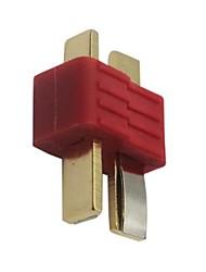Antiderrapante T-plug conector macho Deans Para Lipo Battery RC