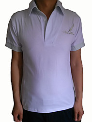Мужская с коротким рукавом Мода Повседневная поло рубашки для мужчин 3 цветов Выберите