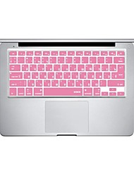 Pink Silicon Laptop Keyboard Skin Cover for MacBook PRO MacBook Air Russian Language Layout