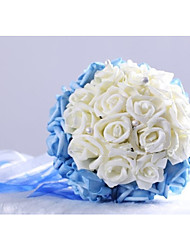 Round Shape Foam Wedding/Special Occasion Bouquet