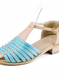 chunky talon t-spartiates des femmes avec des chaussures de boucle (plus de couleurs)