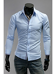 Tizeland Men's Long Sleeves Fitted Shirt 1087